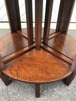 Edwardian Mahogany Round Nest of 5 Tables (2 of 9)