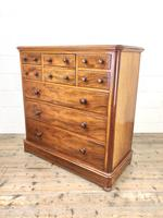 Large Antique Mahogany Chest of Drawers by Maple & Co (8 of 13)