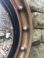 Antique Gilt Framed Convex Mirror (2 of 3)