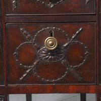 Rare Georgian Period Adams Style Mahogany Desk (10 of 15)