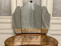 Queen Anne Burr Walnut Kidney Dressing Table (2 of 17)
