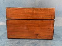 Victorian Walnut & Tunbridge Ware Jewellery Box (5 of 11)