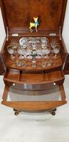 Art Deco Walnut Drinks Cabinet (2 of 8)