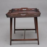 Early 19th Century Mahogany Tray Top Table (5 of 6)