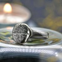 The Ancient Medieval Silver Cross Ring (3 of 4)