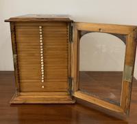 Antique Pine Microscope Slide Cabinet (10 of 17)