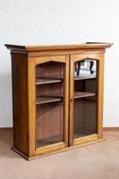 Early 19th Century Mahogany Glazed Hanging Cupboard (4 of 4)