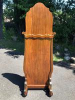 Antique Walnut Cheval  Dressing Mirror (3 of 8)