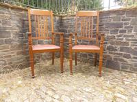 A Pair of Arts and Crafts Oak Chairs (6 of 10)