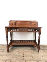 Antique Edwardian Mahogany Desk (8 of 12)