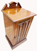 Good Quality Victorian Walnut Bedside Cabinet (5 of 5)