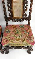 Fine Set of Four Late 17th - Early 18th Century Walnut Chairs (7 of 14)