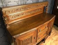 Quality Carved Oak Sideboard (4 of 14)