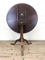 George III Mahogany Snap Top Table (m-2217) (4 of 10)