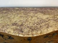 French Chest of Drawers Bombe Commode with Marble Top (10 of 12)