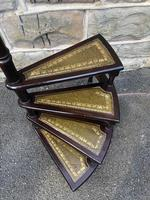 Antique Mahogany Library Steps (3 of 7)