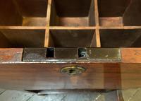 Rare & Fine 18th Century George III Figured Mahogany Drinks Decanter Bottle Cabinet (14 of 16)