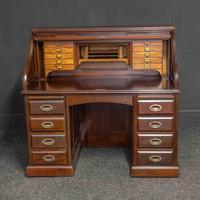 Early 20th Century Mahogany Desk (3 of 15)