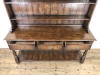 Antique Oak Pot Board Dresser (4 of 9)