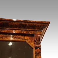 Victorian Burr Walnut Library Bookcase (7 of 11)