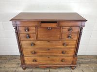 Large Victorian Mahogany Chest of Drawers (4 of 16)