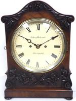 Antique English 8 Day Twin Fusee Bracket clock 8-Day Striking Double Fusee Mantel Clock By G Spiegelhalter & Co Whitechapel (8 of 13)