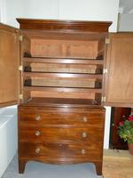 English Regency Linen Cupboard (9 of 9)