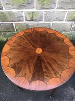 Quality Edwardian Inlaid Mahogany Occasional Table (4 of 7)