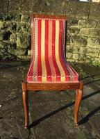 Antique French Regency Jeanselme Rosewood Dining Chairs (9 of 11)
