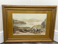 19th Century Scottish Highlands Watercolour Loch Kishorn By William Leighton Leitch (2 of 36)