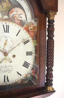 Fine English Longcase Clock John Fenton Congleton 8-day Striking Grandfather Clock Solid Mahogany Case (11 of 16)