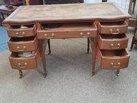 Edwardian Leather Top Desk (2 of 7)