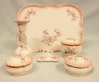 Decorated China Dressing Table Set (5 of 6)