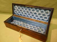 Exquisite French Inlaid – Parquetry Glove – Jewellery Box c.1870 (4 of 11)