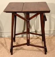 """Campaign Table Easel """"Hatherley"""" Patent (5 of 5)"""