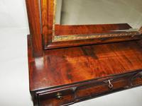 George II Veneered Walnut Toilet Mirror (6 of 6)