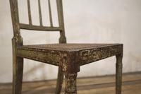 Charming Near Pair of Regency Green Painted Occasional / Elbow Chairs (7 of 14)