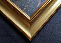 After Sandro Botticelli Large 20th Century Old Master Framed Coloured Print (12 of 13)