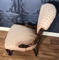 Victorian Burr Walnut & Inlaid Salon Suite (19 of 38)