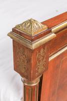 Incredible Mahogany & Brass Napoleon II Double Bed (4 of 10)
