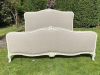 Superkingsize French painted bed