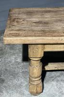 Rustic French Oak Farmhouse Kitchen Dining Table (12 of 16)