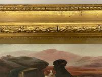 """19th Century Oil Painting Sporting """"Game Dogs"""" Signed Robert Cleminson (10 of 48)"""