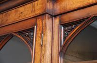 Early 19th Century Pollard Oak Bookcase (6 of 13)