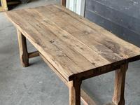 Normandy Oak Farmhouse Table & Bench Set (9 of 19)