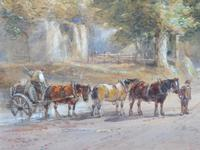Watercolour English Countryside Listed Artist Henry Earp Senior (3 of 10)