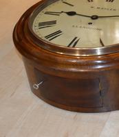 W Mayler Llandudno Fusee Dial Wall Clock (2 of 4)