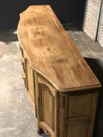Bow Front French Bleached Oak Enfilade (9 of 11)