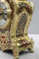 French Napoleon III Boulle Mantel Clock by Japy Freres (5 of 11)