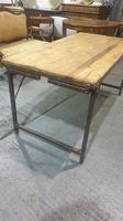 Fabulous Pine Trestle Kitchen Table (8 of 11)